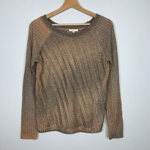 MYSTREE Pullover Sweater Ombre color Size Medium